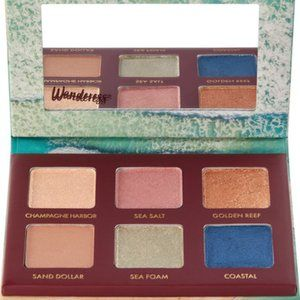 WANDERESS™ SEASCAPE EYESHADOW PALETTE NWT